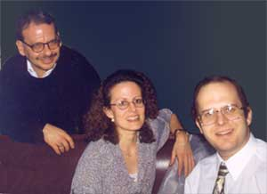 David, Marlene and Frank Adelstein