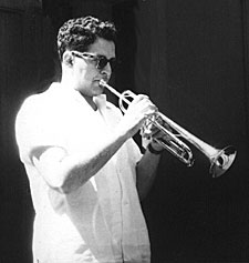 Bernard with Trumpet